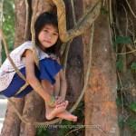 Cambodge, portrait de fillette © Marie-Ange Ostré