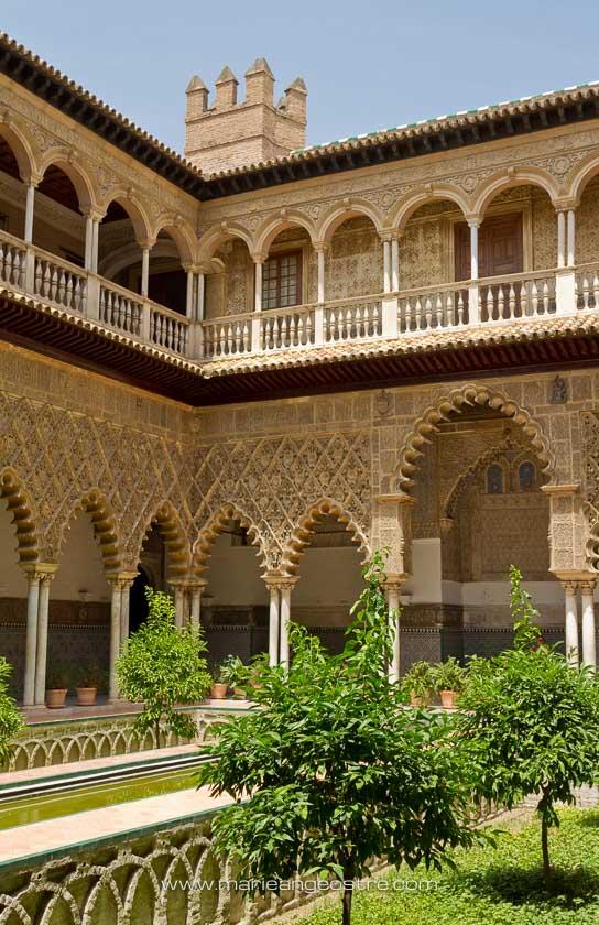 Espagne, les jardins de l'Alcazar à Séville © Marie-Ange Ostré