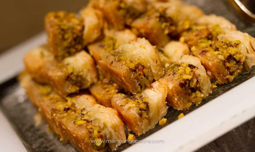 Abu Dhabi, pâtisseries orientales © Marie-Ange Ostré