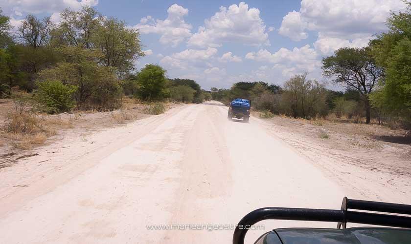 Botswana, route vers la Namibie © Marie-Ange Ostré