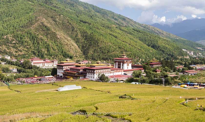 Bhoutan, forteresse de Thimphu © Marie-Ange Ostré