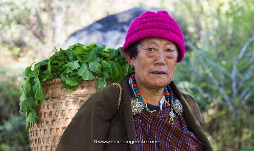 Femme bhoutanaise ©Marie-Ange Ostré
