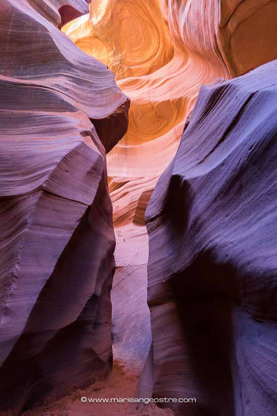 Visiter Lower Antelope Canyon, Arizona (USA) ©Marie-Ange Ostré