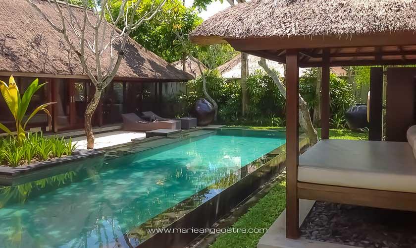 Indonésie Bali, villa avec piscine privée au Kayumanis à Jimbaran © Marie-Ange Ostré