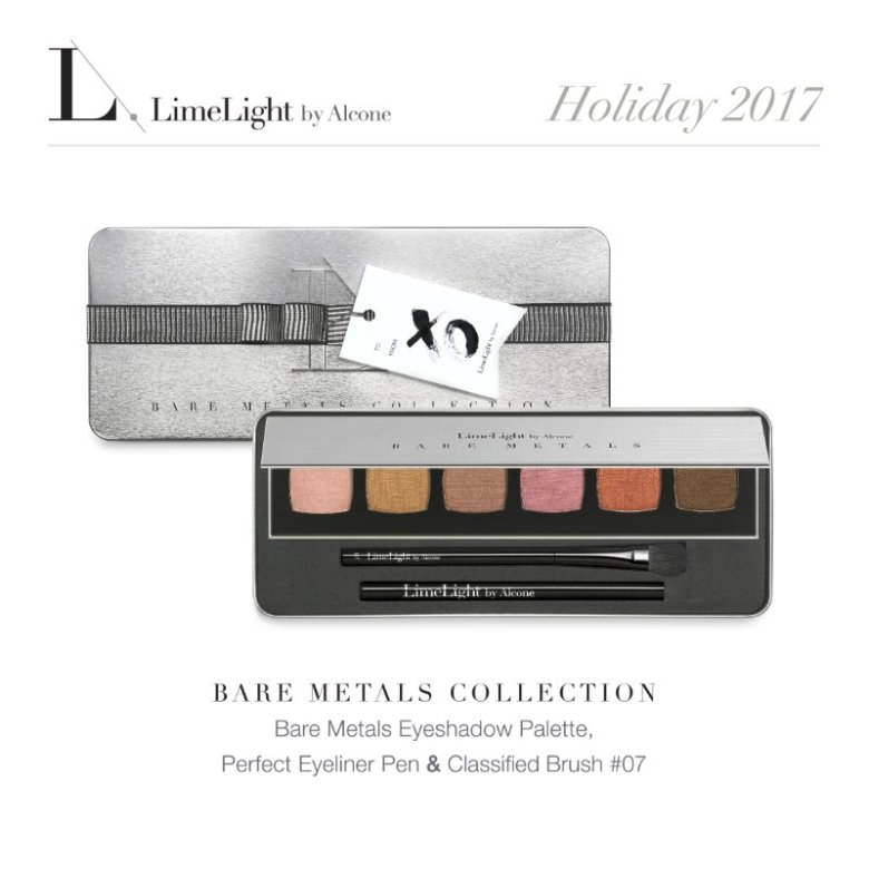 Limelight Holiday Collection series – Bare Metals