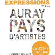 Exposition à Auray, à la chapelle du Saint Esprit du 13 avril au 22 mai 2019