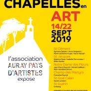 Brec'h Chapelles en art du 14 au 22 septembre 2019