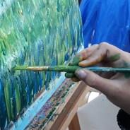 Cours de peinture enfants : vacances de la Toussaint