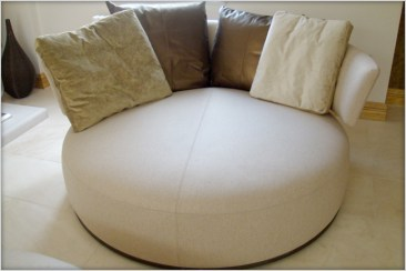 Designer Furniture : B + B Italia, Max Alto Amoenus swivel chair Marie Charnley Interiors