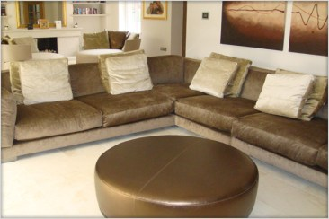 Flexform Sofa (cestone) at Marie Charnley Interiors