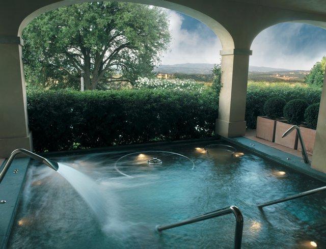Castello Del Nero Hotel Spa, Tuscany, Italy.