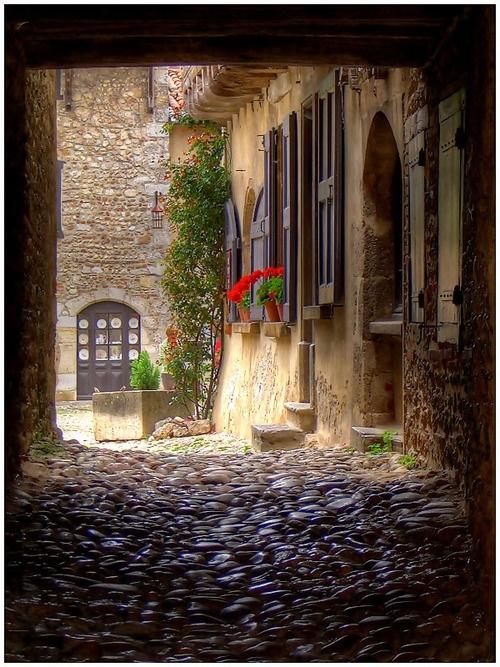 Medieval Village, Perouges, France