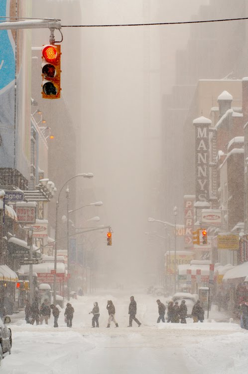 Blizzard, New York City