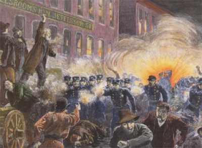 Massacre de Hay Market Chicago