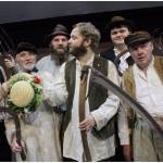 Photograph compilation of the actors in Larkrise to Candleford at Sewell Barn Theatre in Norwich