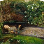 Image of John Everett Millais's painting of Lizzie Siddal, 'Ophelia'