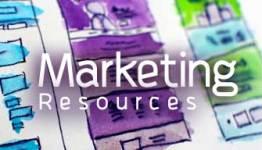 Marketing Resources Button