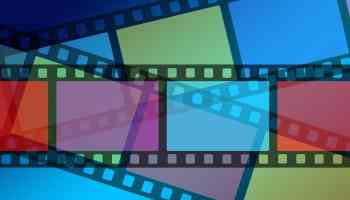 Image of analogue film strips