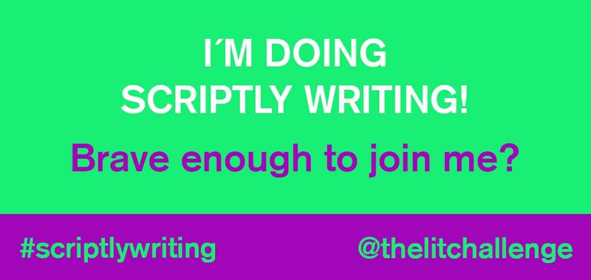 Scripty Writing Screenwriting challenge 14 scripts