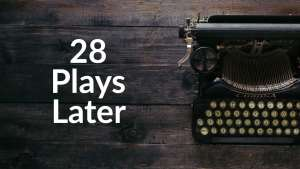Image of typewriter for 28 Plays later