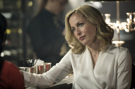 Programme Name: The Fall - TX: n/a - Episode: n/a (No. 4) - Embargoed for publication until: n/a - Picture Shows: DSI Stella Gibson (Gillian Anderson)  - (C) Artists Studio - Photographer: Steffan Hill