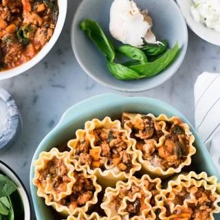 Rouleaux de lasagne