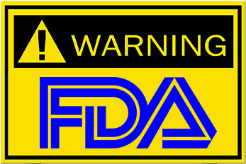 Image result for FDA warning