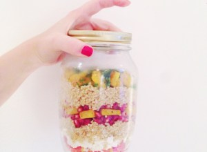 Salade d'automne de quinoa & courge