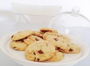 Cookie aux pepites de chocolat