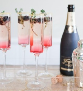 cocktail champagne