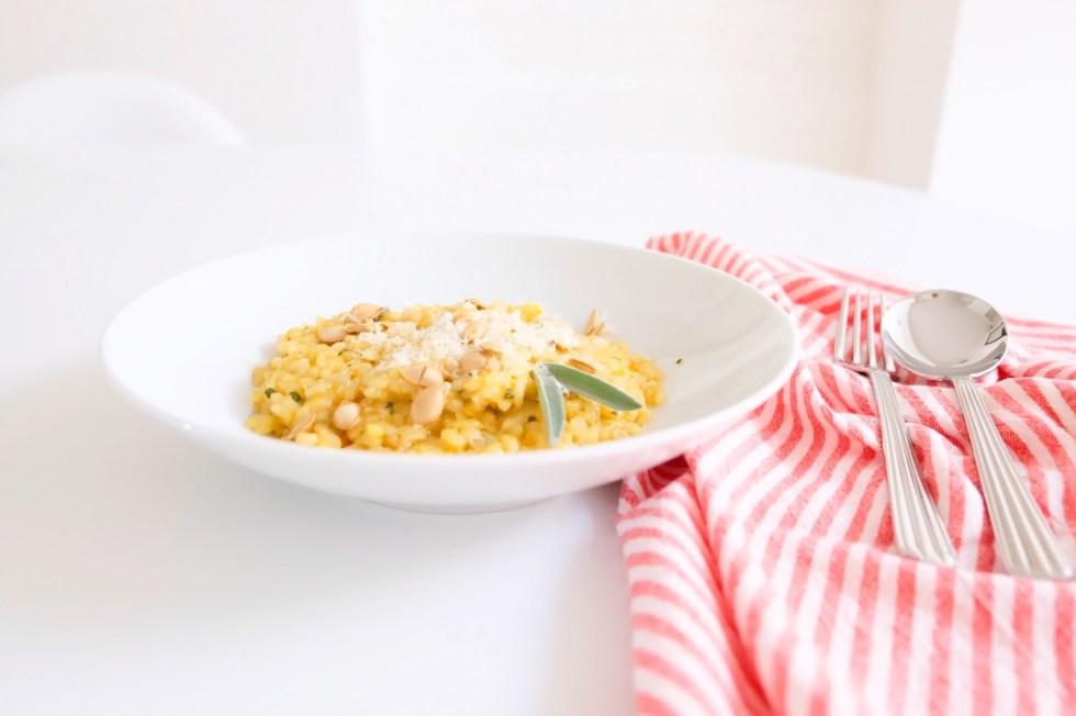 risotto butternut marie gourmandise