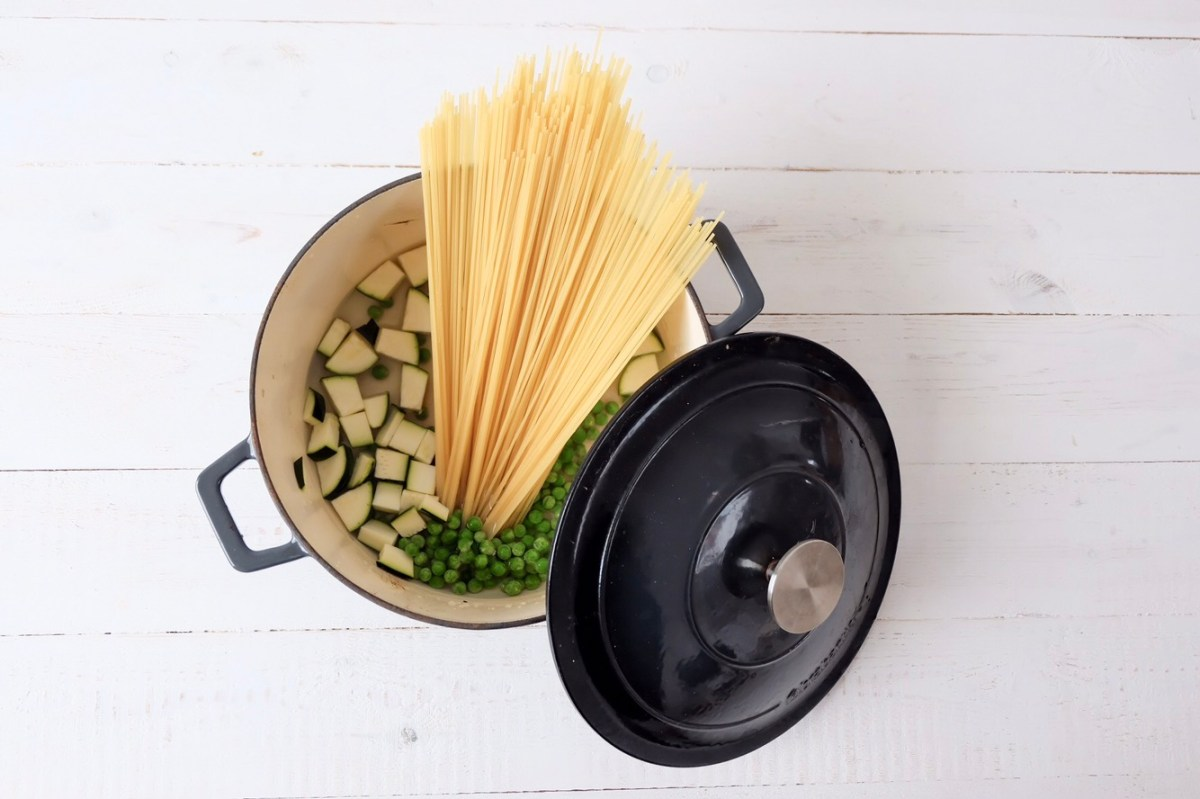 One Pot Pasta aux courgettes