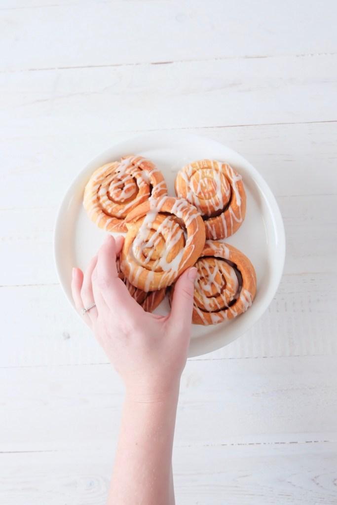 Vanilla roll's marie gourmandise