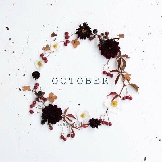 Menu du mois d'Octobre