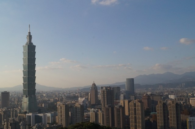 Taipei, view from the Elephant Mountain