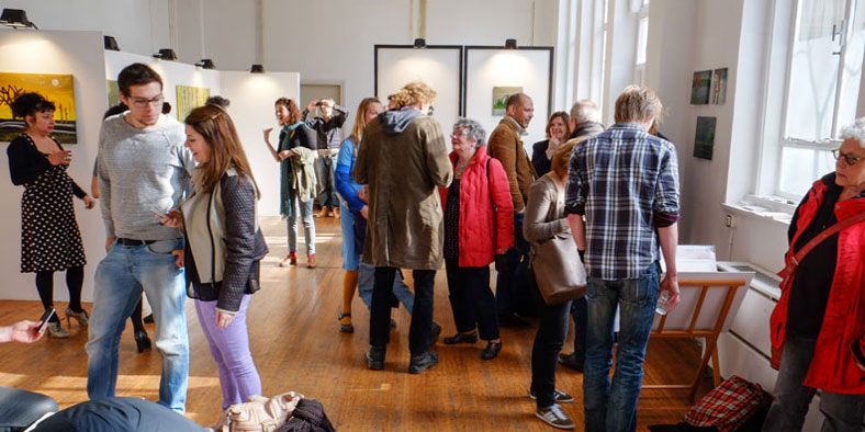 Opening expositie Lokaal WV15