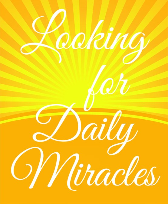 Looking for Daily Miracles