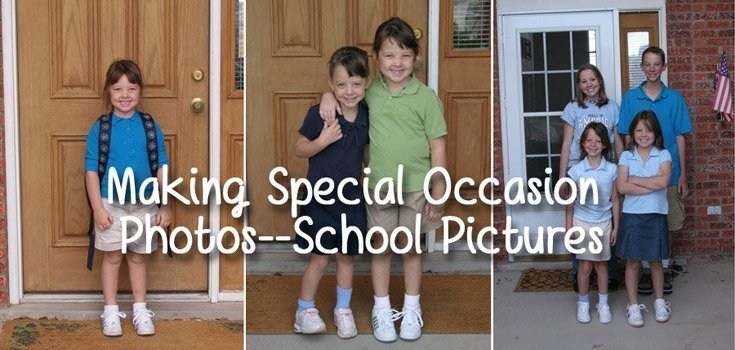 Making Special Occasion Photos–School Pictures