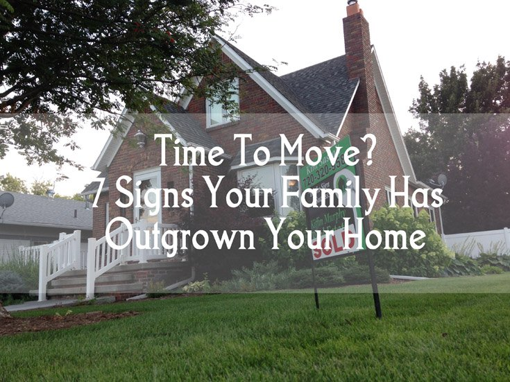 Time To Move 7 Signs Your Family Has Outgrown Your Home