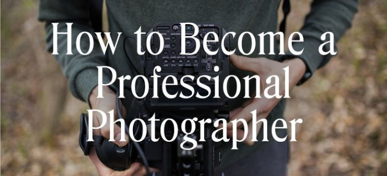 How To Become A Professional Photographer–Infographic