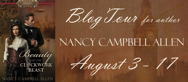 Beauty and the Clockwork Beast Blog Tour August 3-17