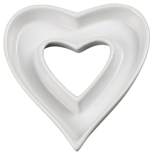 Ceramic Love Letter Dish, Heart Shape