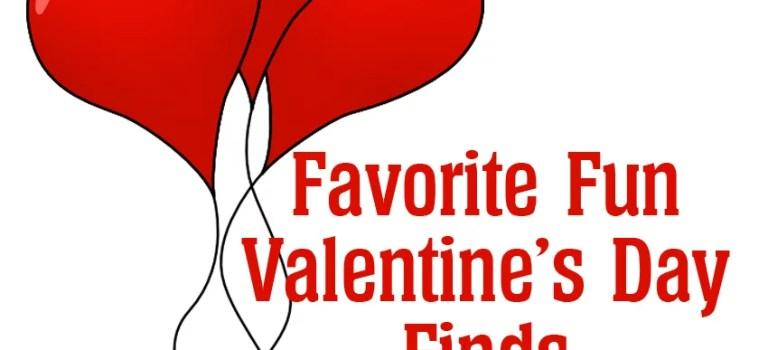 Favorite Fun Valentine's Day Finds