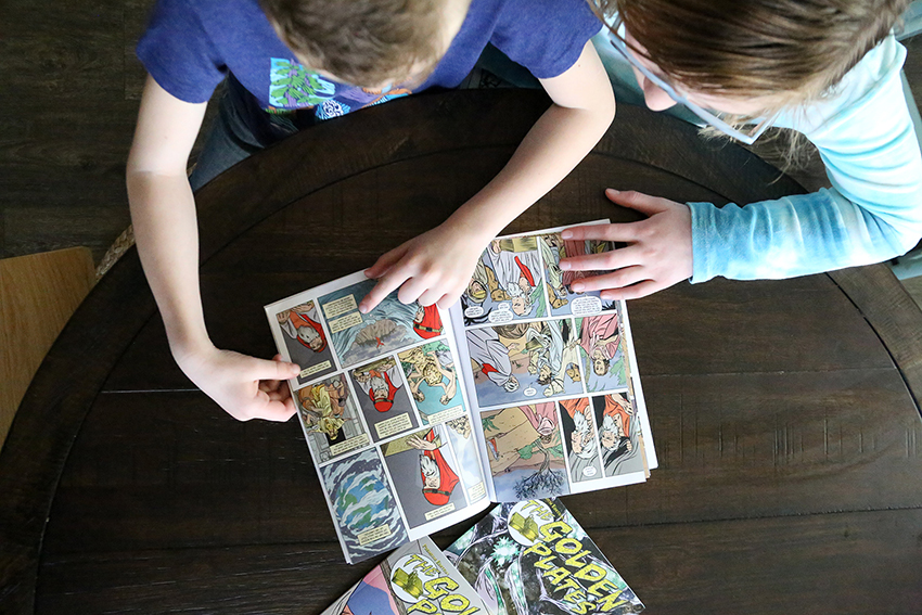 The Golden Plates Graphic Novels make Book of Mormon Reading Fun for kids
