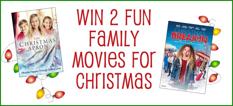 Win 2 Fun Family Movies for Christmas #Giveaway