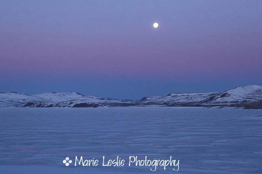 Moonset Over the Gunnison