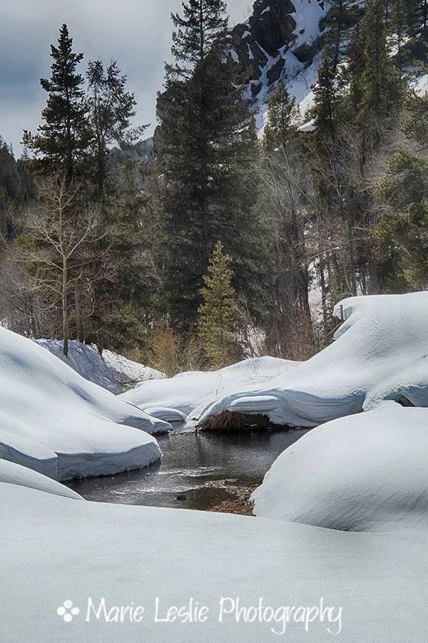 Winter on Cebolla Creek