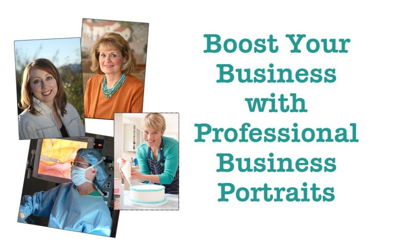 Boost Your Business with Professional Business Portraits