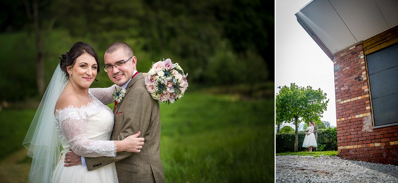 WEDDING PHOTOGRAPHY PORTRAITS IN Vale country Club, North Wales
