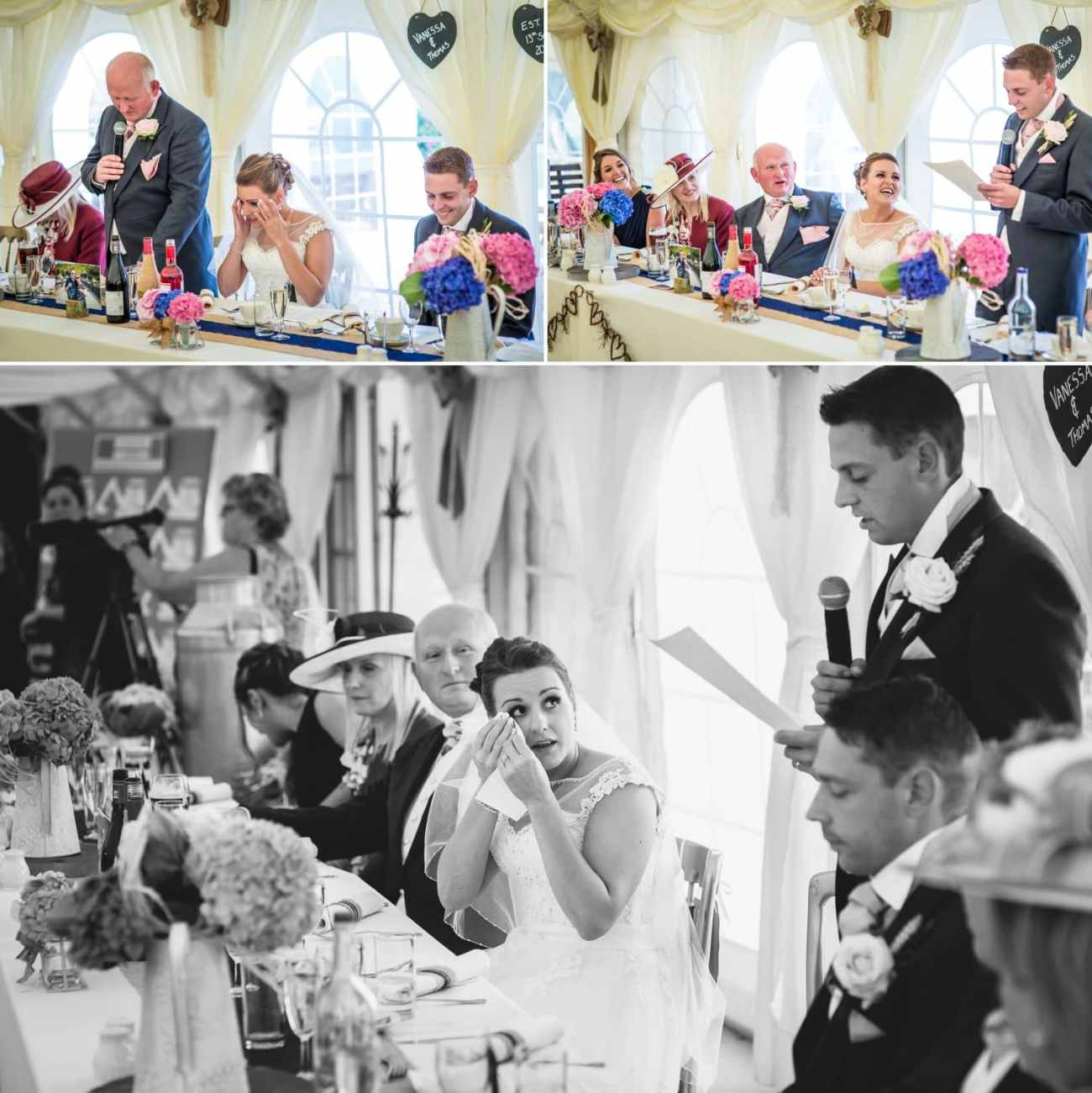 Wedding Photography speeches Wales